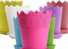 گلدان پلاستیکی با کیفیت